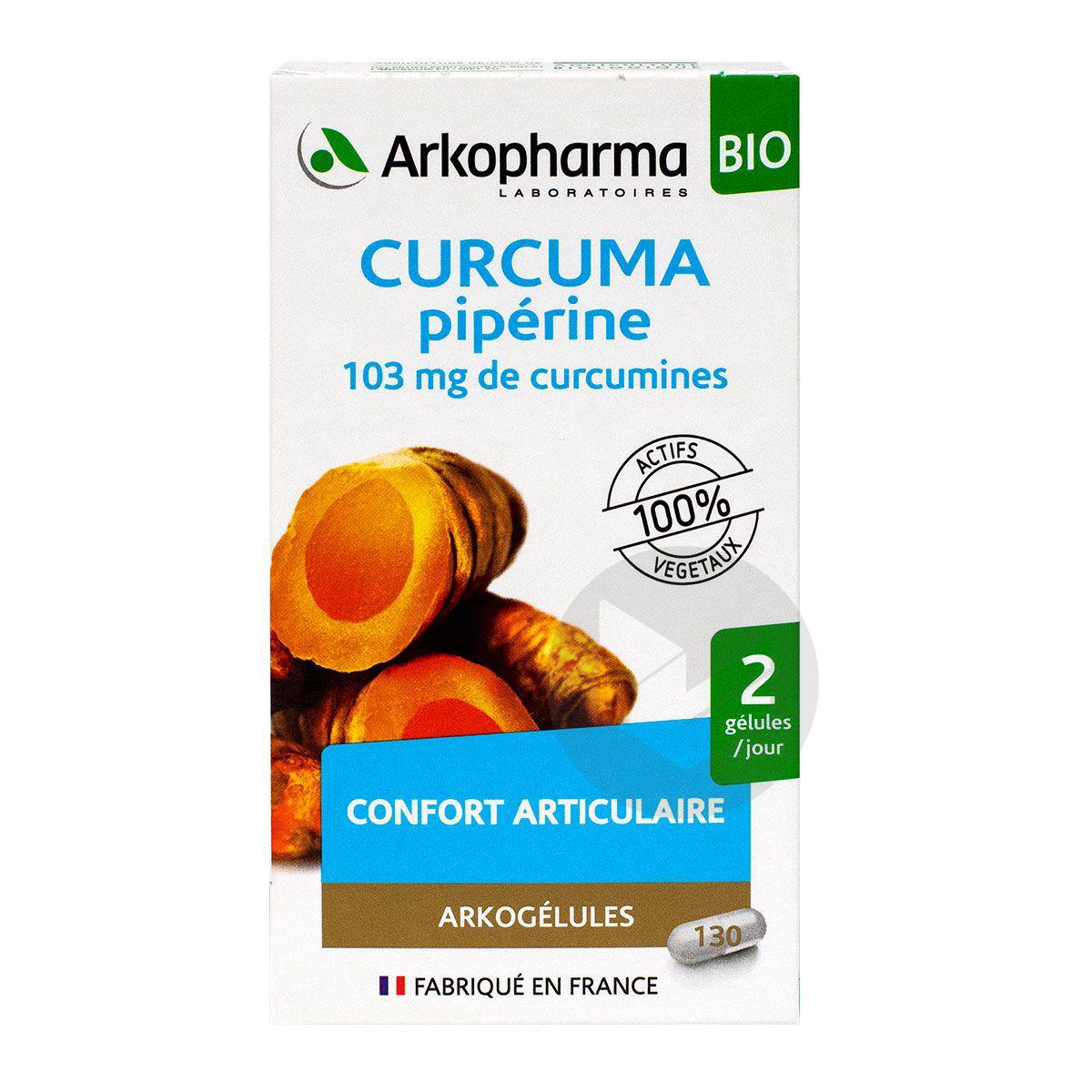 Curcuma Bio Grand Modele