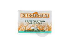 BOLDOFLORINE 1 Comprimé pelliculé constipation passagère (Boîte de 40)