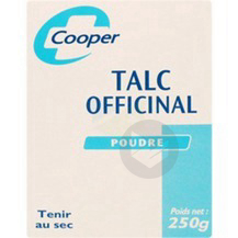 Talc Officinal Pdr B 250 G