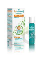 PURESSENTIEL HYGIENE & BEAUTE Roller SOS peau 11 huiles essentielles 5ml