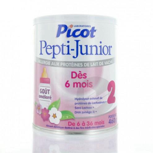 PICOT PEPTI-JUNIOR Lait pdre 2ème âge B/460g