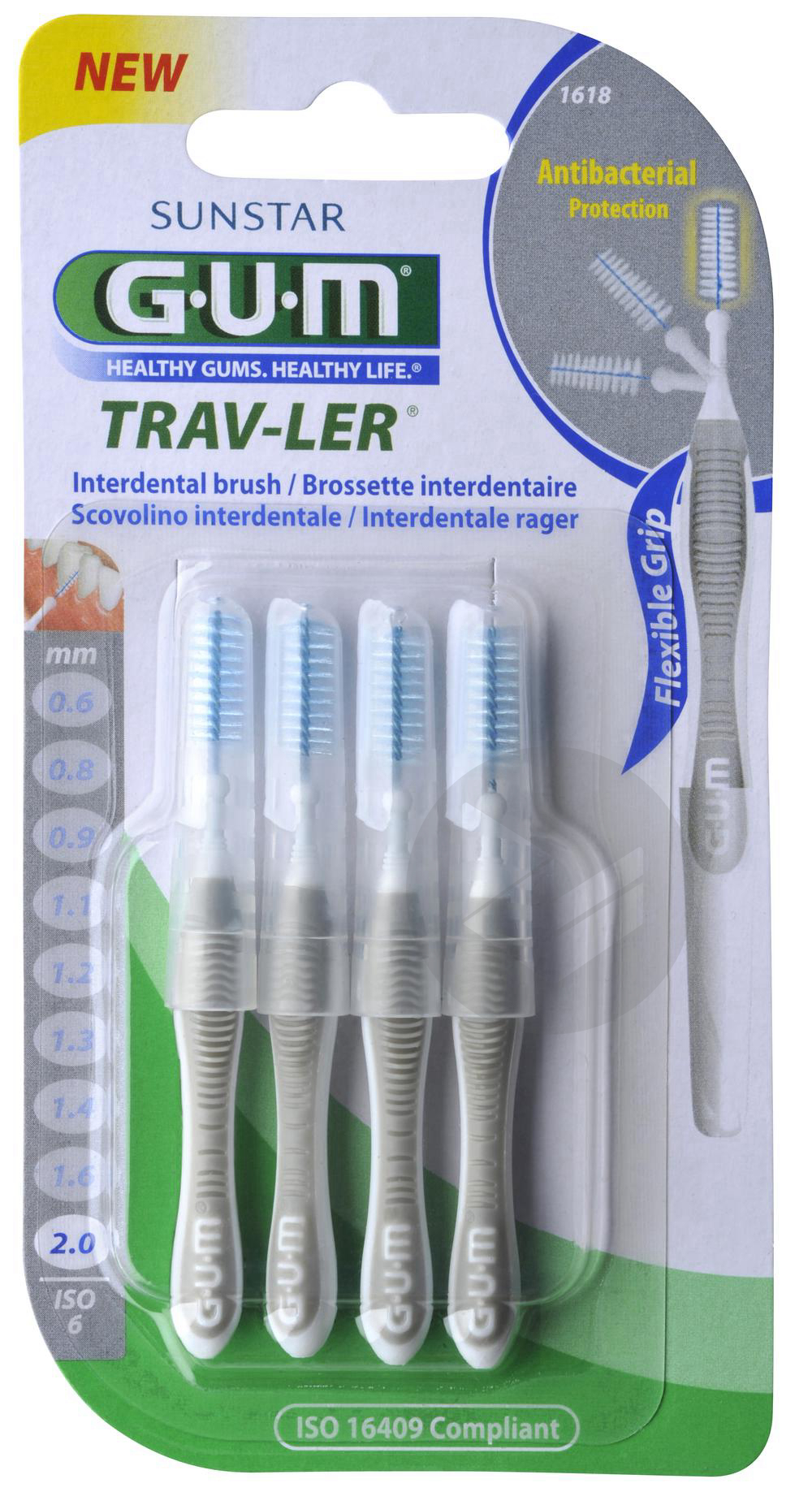 Brossette Interdentaire Trav Ler 2 0 Mm