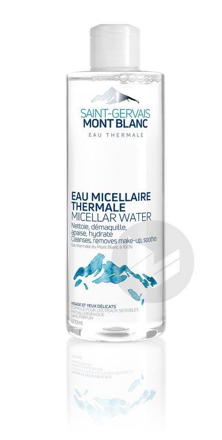 Saint-Gervais Mont Blanc Peaux deshydratées Eau micellaire thermale pour peaux sensibles 400 ml