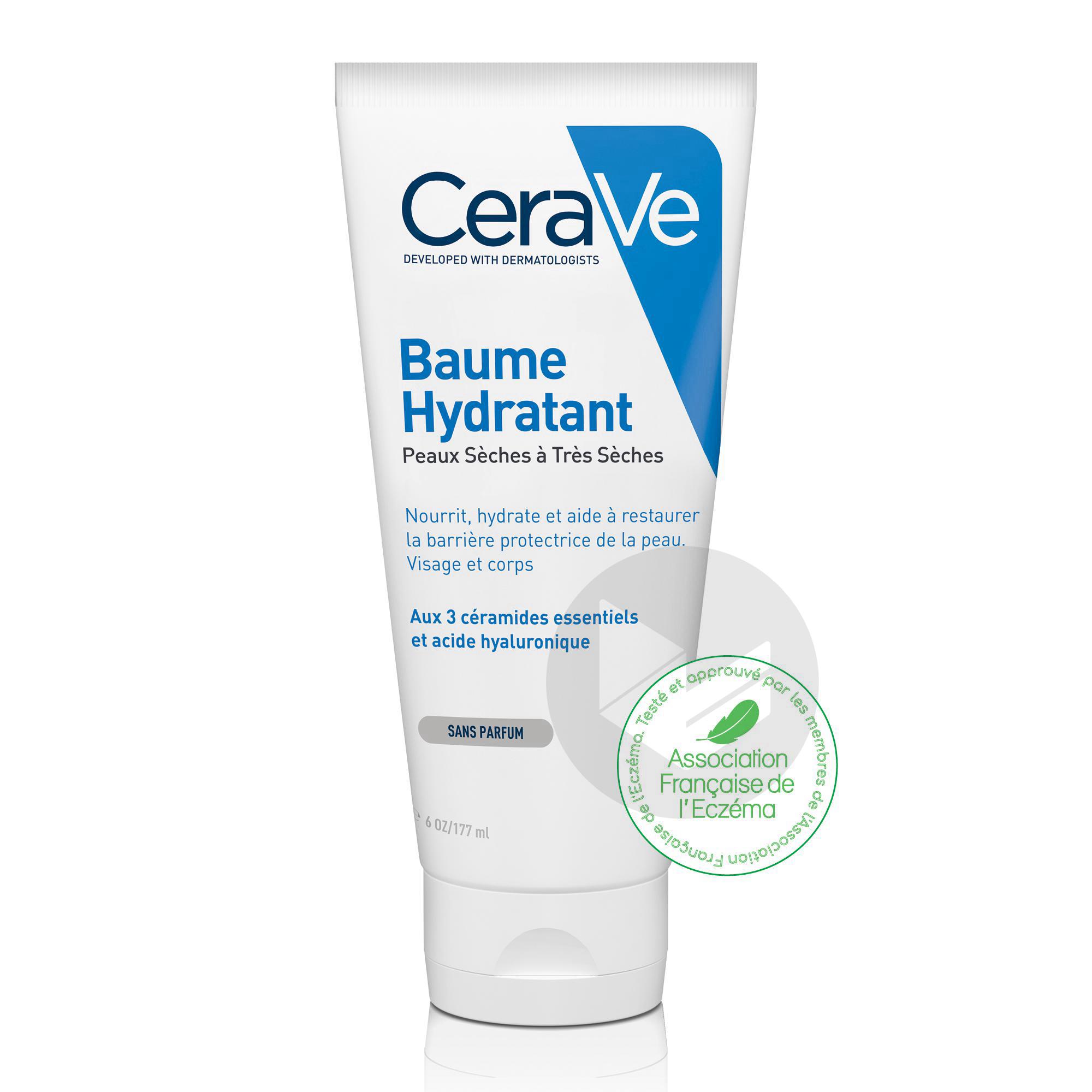 Baume Hydratant visage et corps pour les peaux sèches à très sèches 177ml