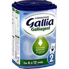 Galliagest Premium 2 Lait Pdre B 900 G Dom Tom