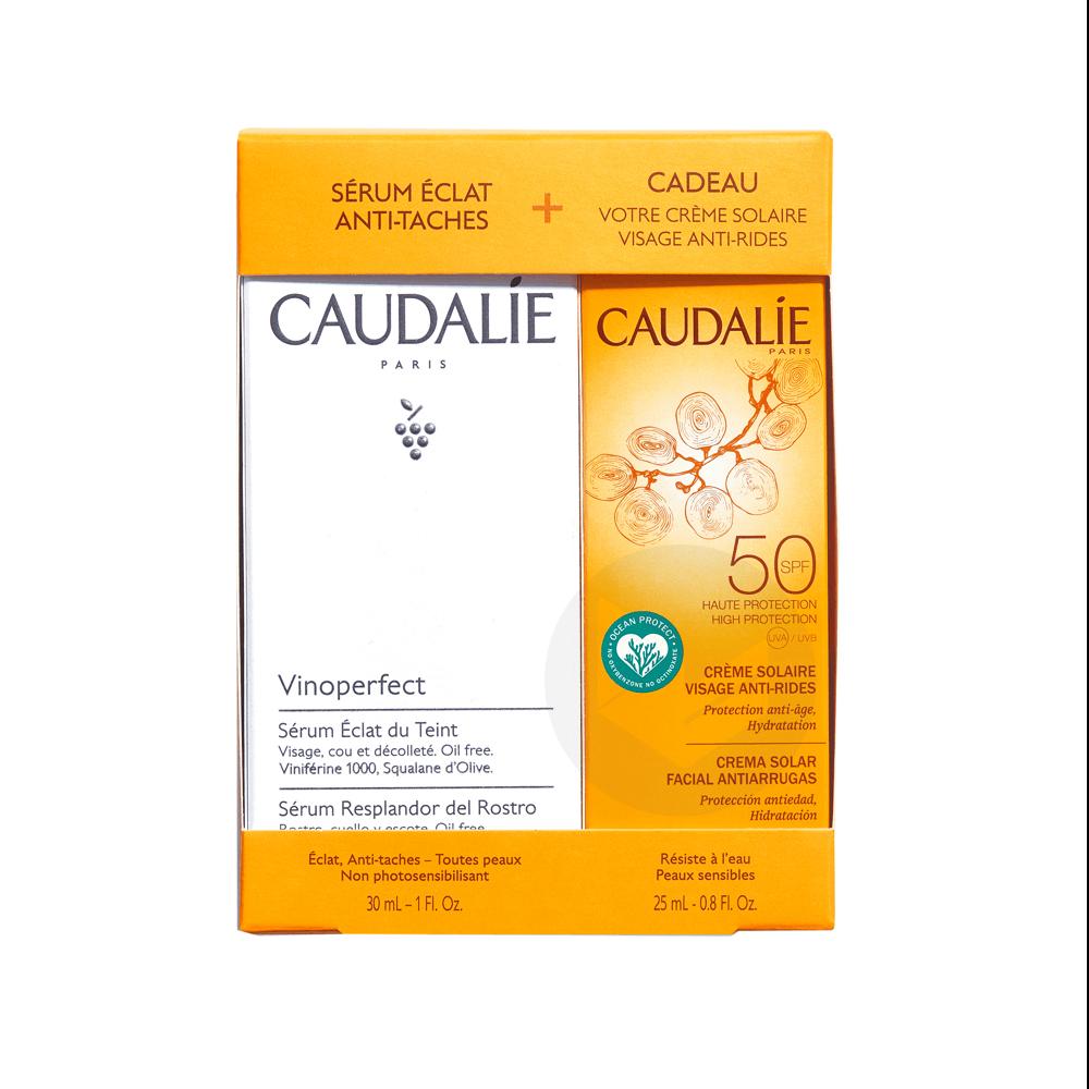 Coffret Creme Solaire Spf 50 Serum Vinoperfect