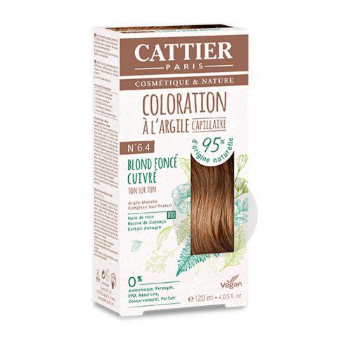 Coloration Capillaire A Largile N 6 4 Blond Fonce Cuivre