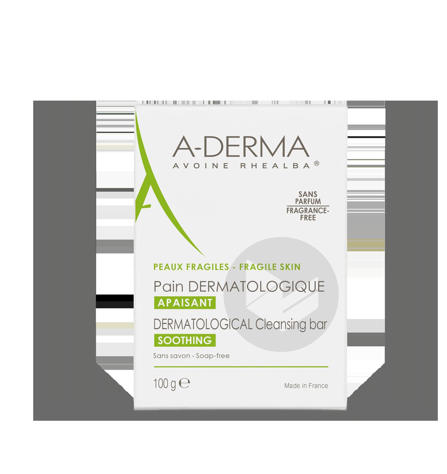 A Derma Les Indispensables Pain Dermatologique 100 G