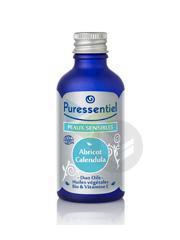 PURESSENTIEL DUO-OILS Huile végétale peau sensible Fl/50ml