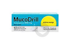 600 Mg Comprime Effervescent Sans Sucre Edulcore Au Sucralose Tube De 10