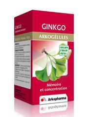 ARKOGELULES Ginkgo Gél Fl/45