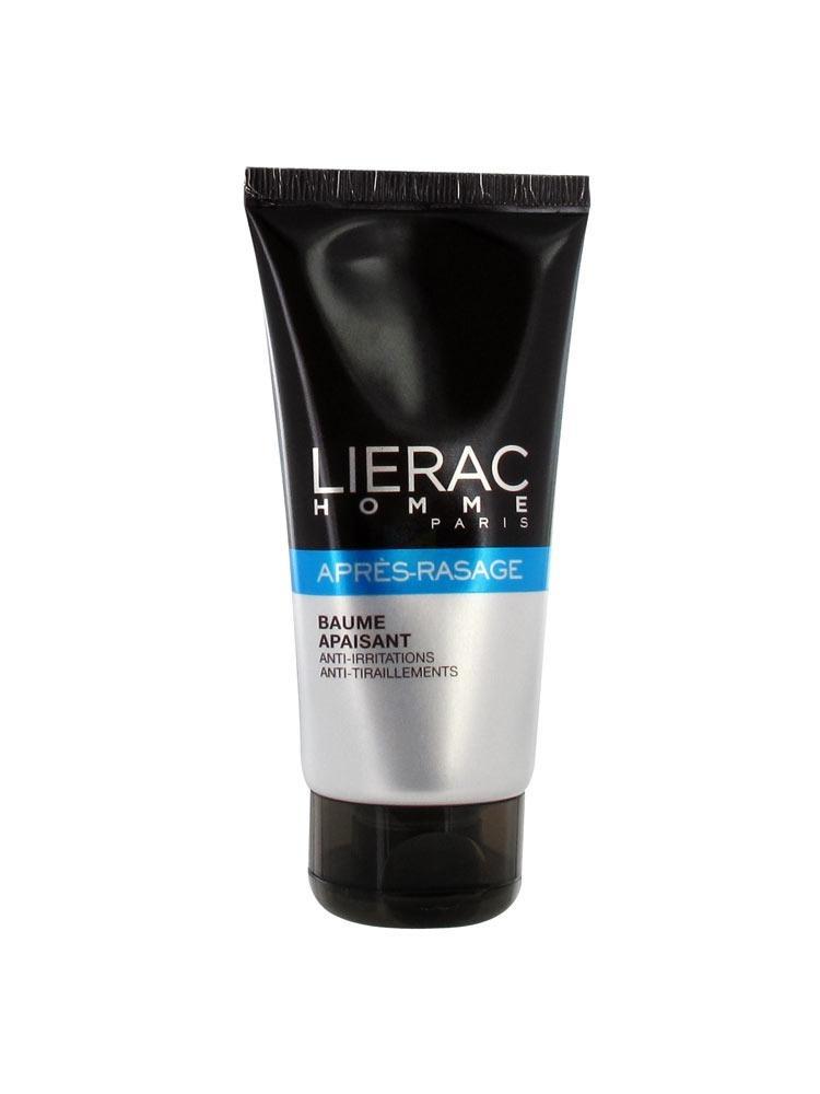 LIERAC LIGNE HOMME Bme après-rasage apaisant anti-irritations T/75ml