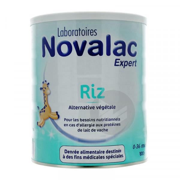 Novalac Expert Riz 0 36 Mois 800 G