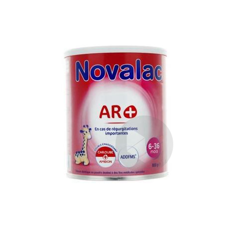 Novalac Ar 6 36 Mois Lait Pdre B 800 G