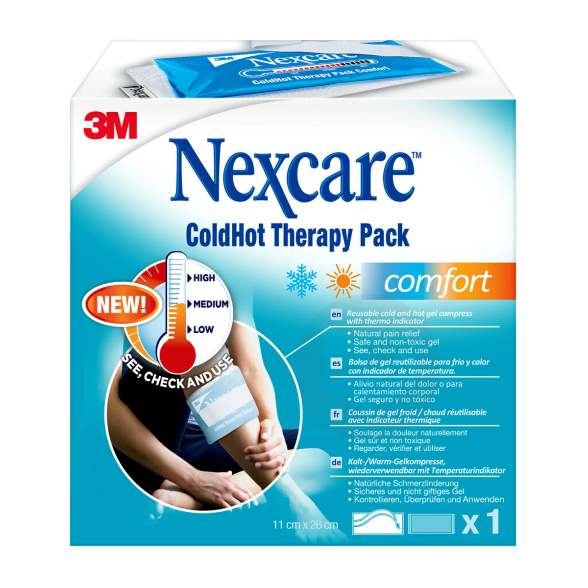 Coussins Thermiques Nexcare Cold Hot Comfort