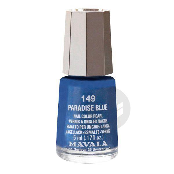 MAVALA V ongles paradise blue mini Fl/5ml