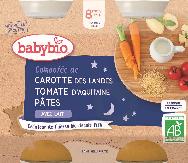 Pot Bonne Nuit Legumes Pates