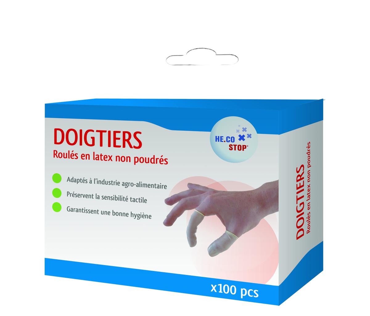 Doigtiers Latex x100
