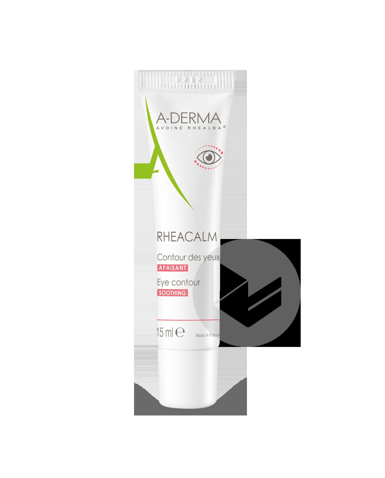 A Derma Rheacalm Contour Des Yeux 15 Ml