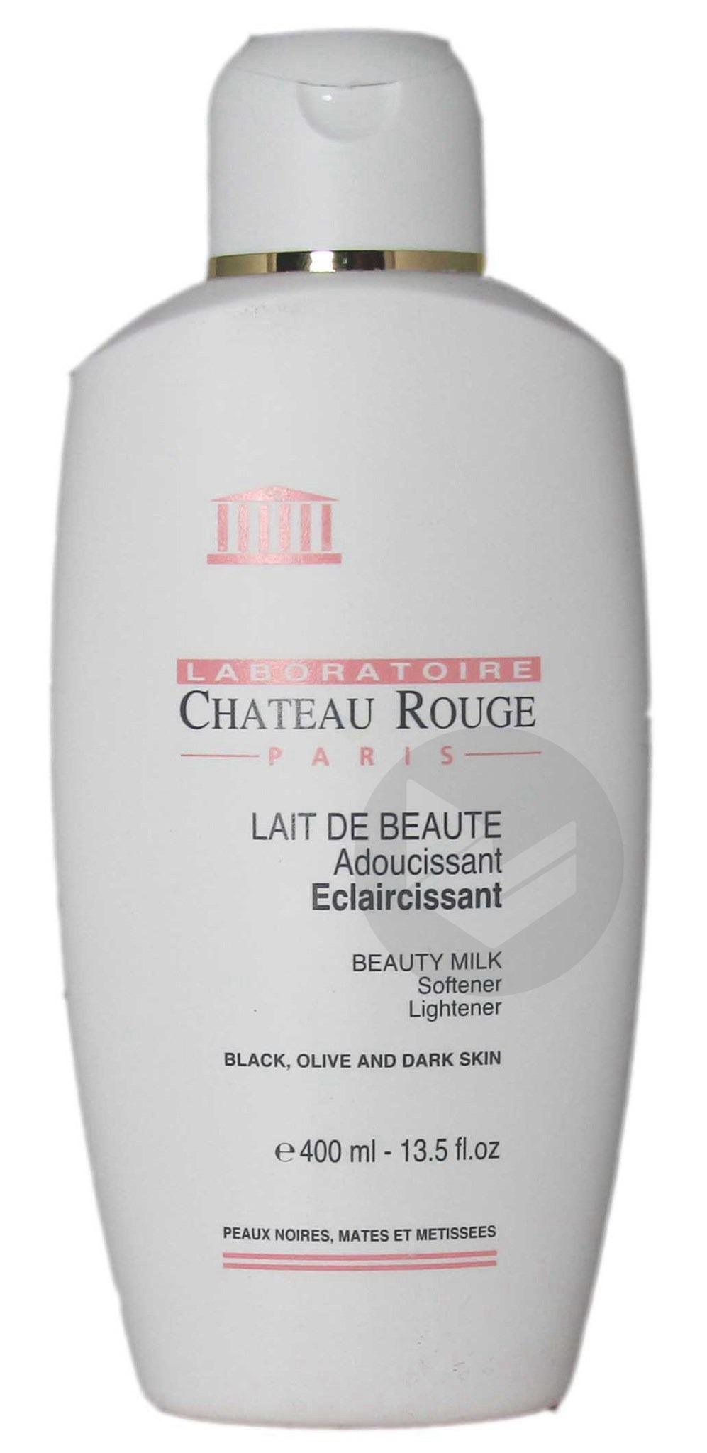 Chateau Rouge Lait Beaute Eclaircissant Visage Et Corps Fl 400 Ml