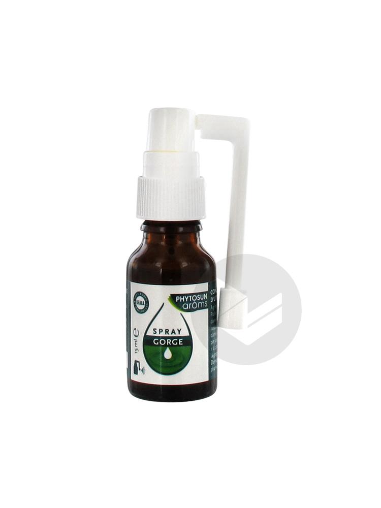 Esculape Aroms Spray Gorge Respiration 15 Ml