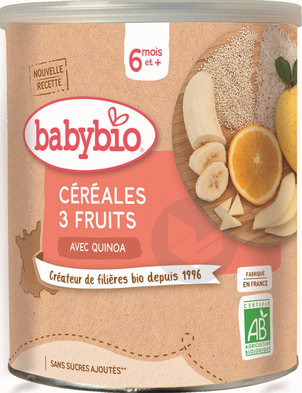 Cereales 3 Fruits