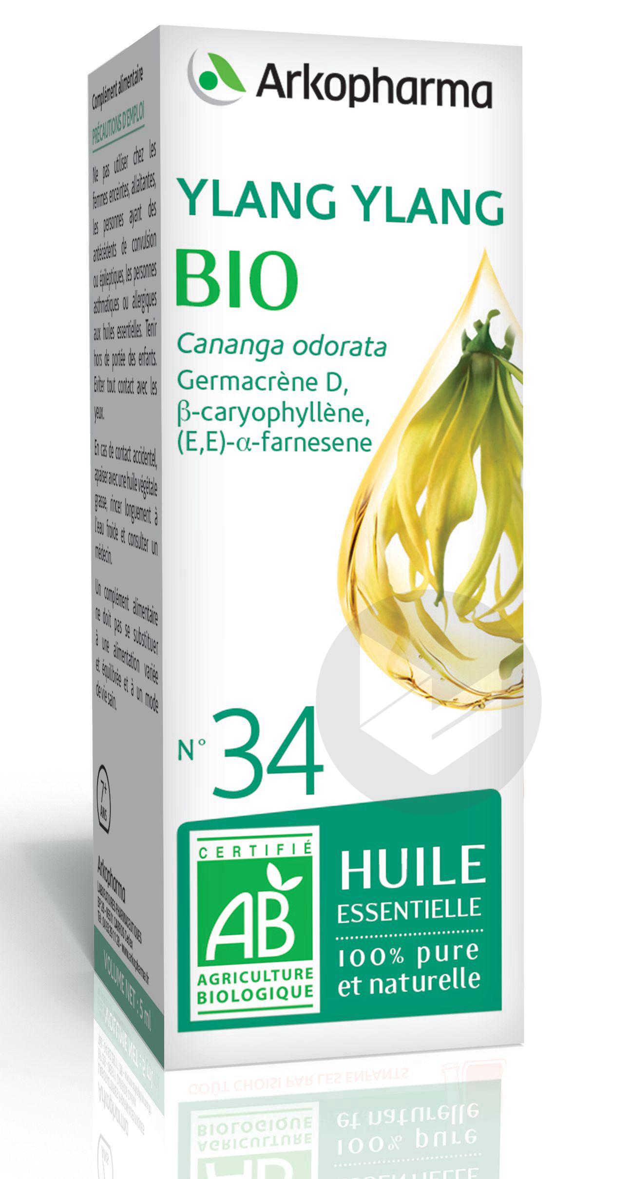 N 34 He Ylang Ylang Bio 5 Ml
