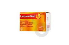 LAROSCORBINE sans sucre 500 mg Comprimé à croquer (Flacon de 30)