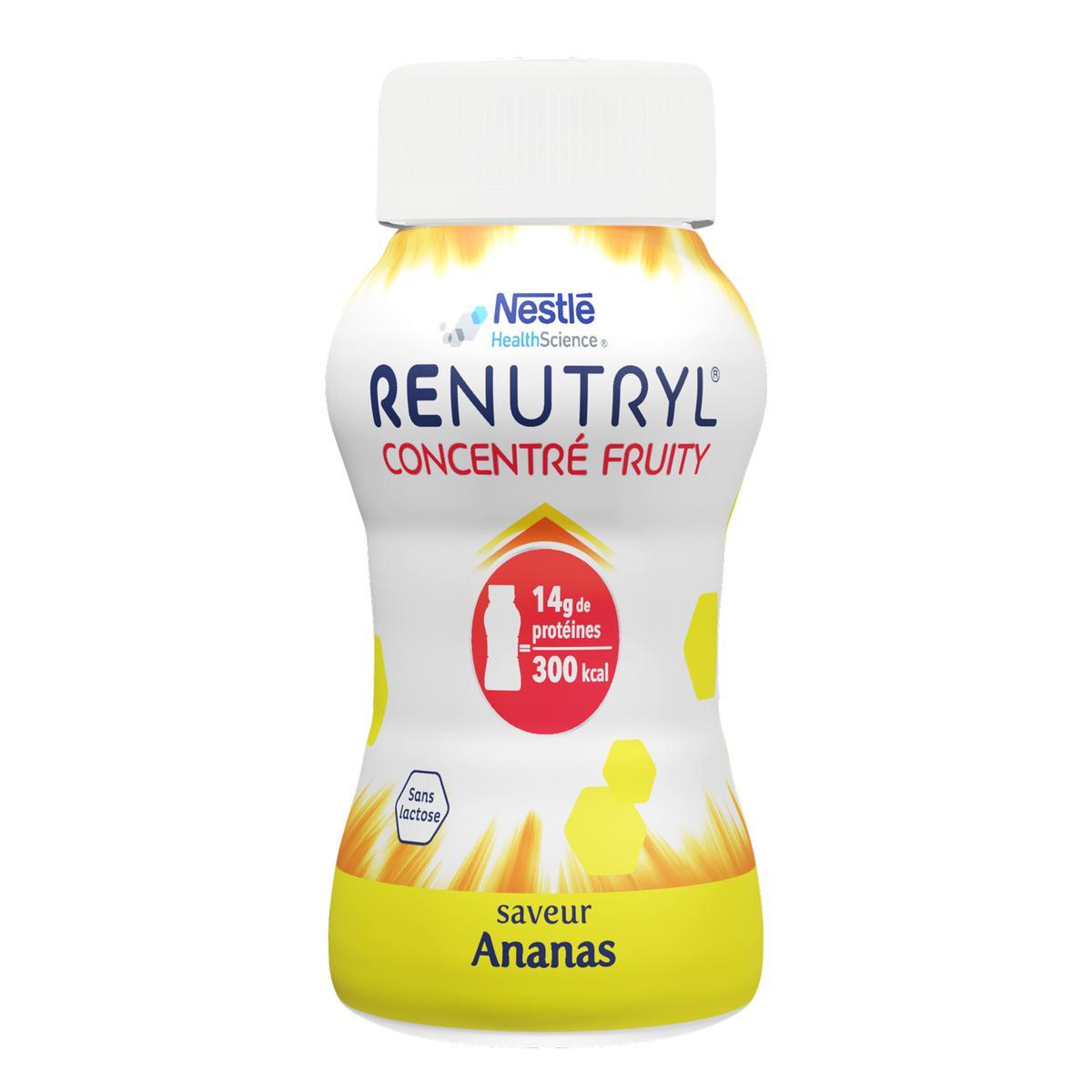Renutryl® Concentré Fruity saveur Ananas 4x200ml