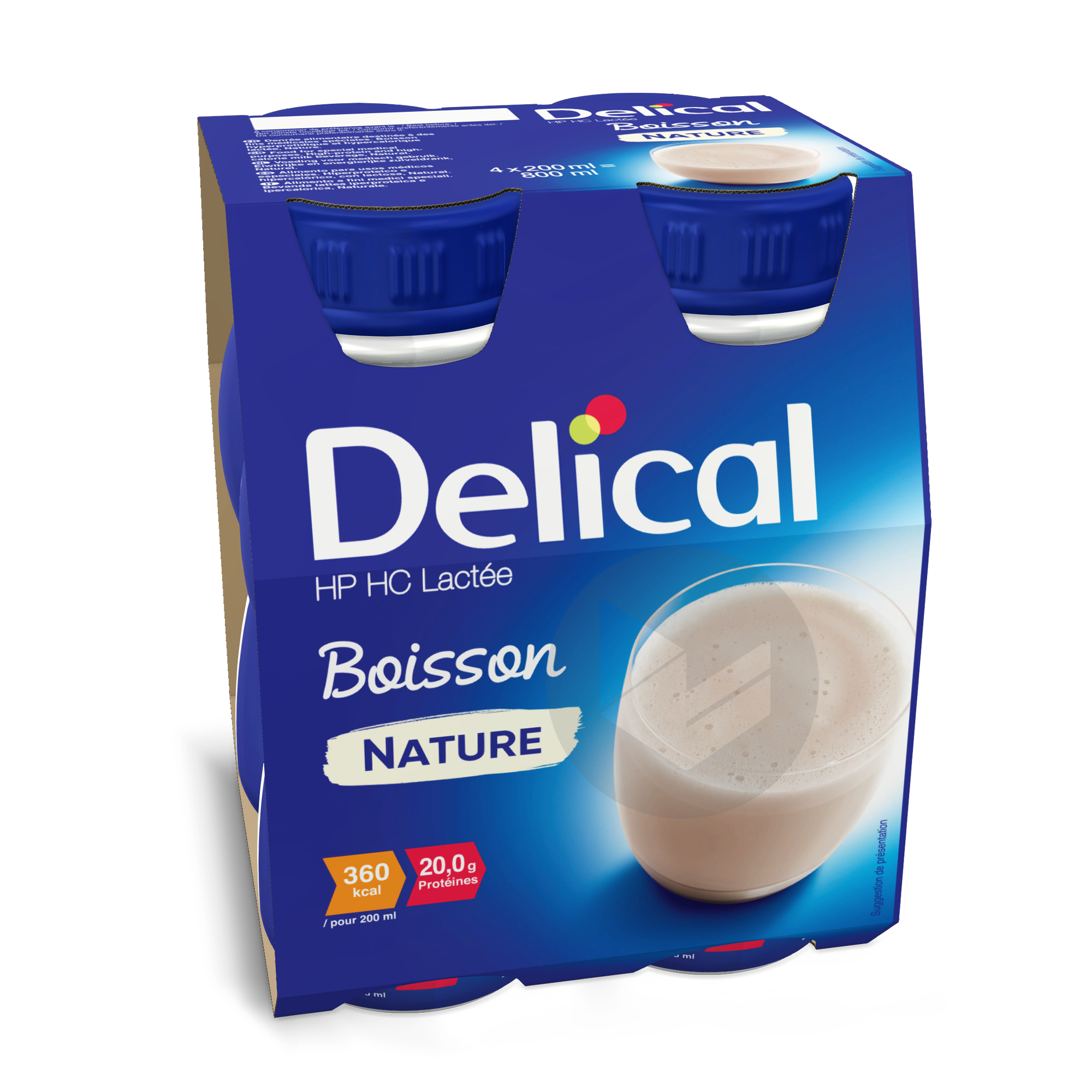 Delical Boisson Hp Hc Lactee Nature