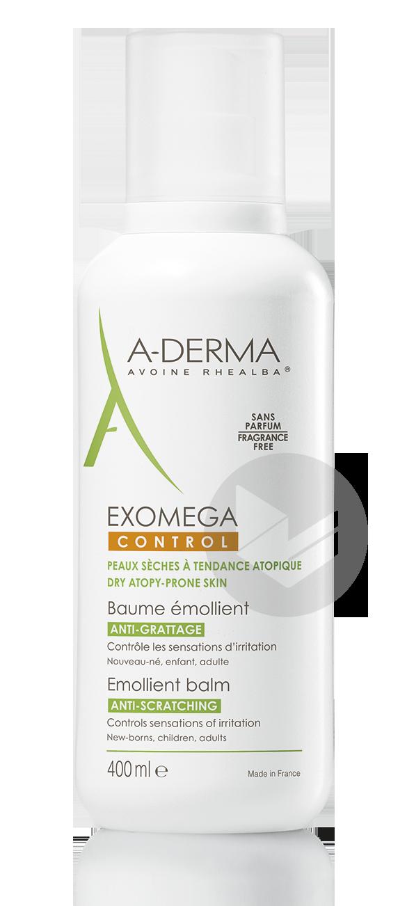 A Derma Exomega Control Baume Emollient Anti Grattage 400 Ml