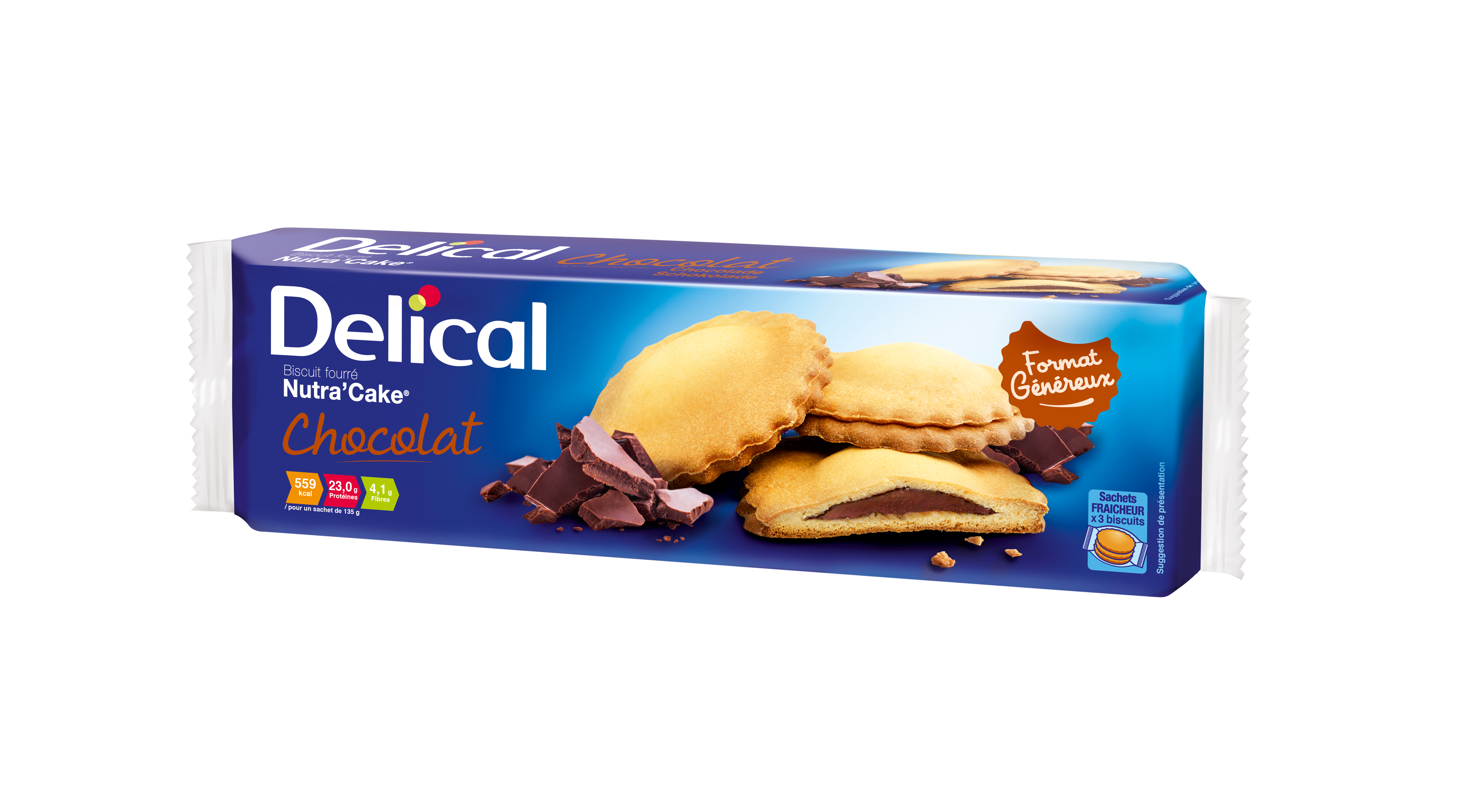 Delical Nutra Cake Chocolat