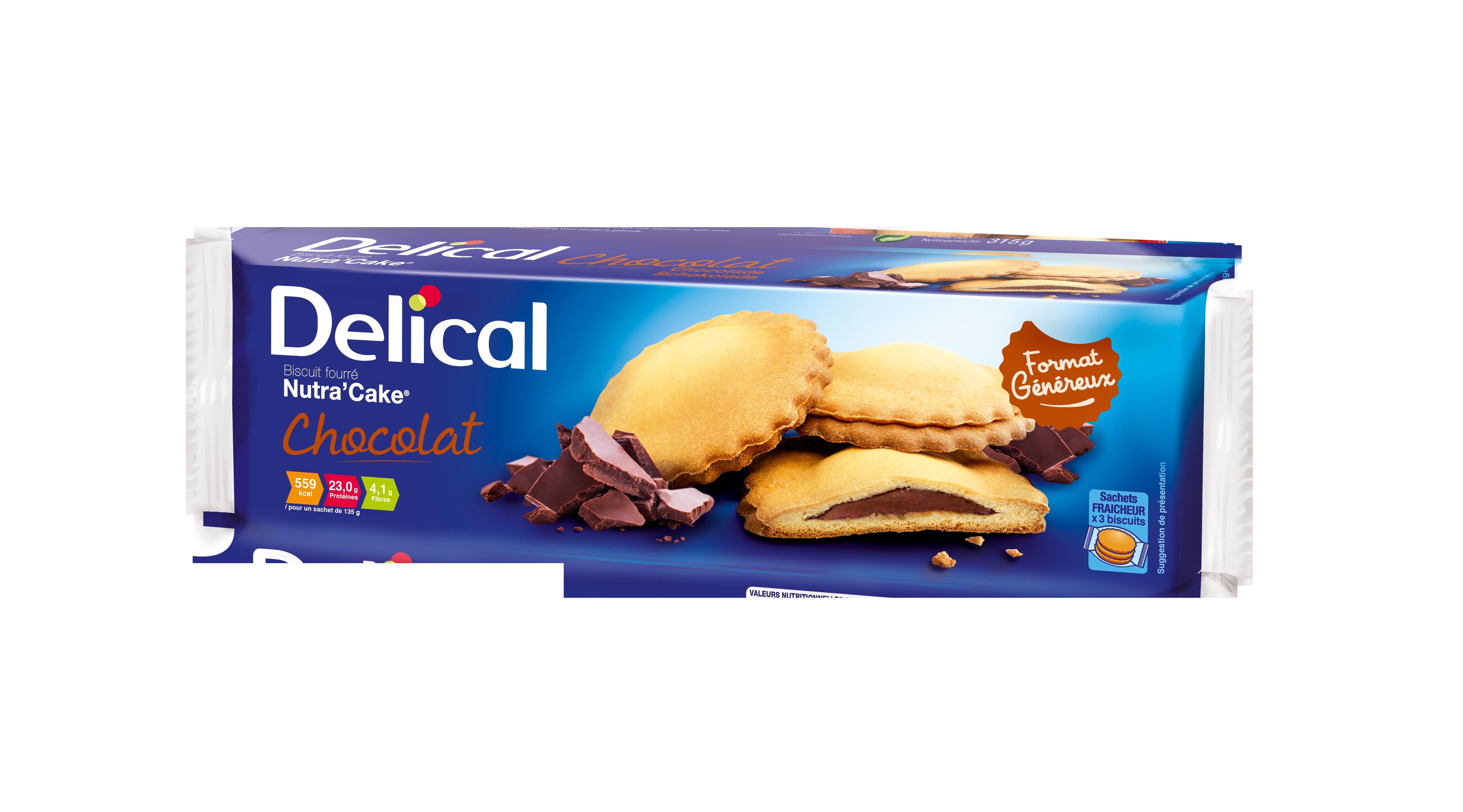 DELICAL Nutra'Cake Chocolat