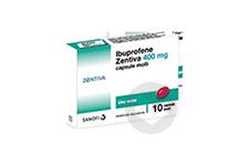 IBUPROFENE ZENTIVA CONSEIL 400 mg Comprimé pelliculé (Plaquette de 10)