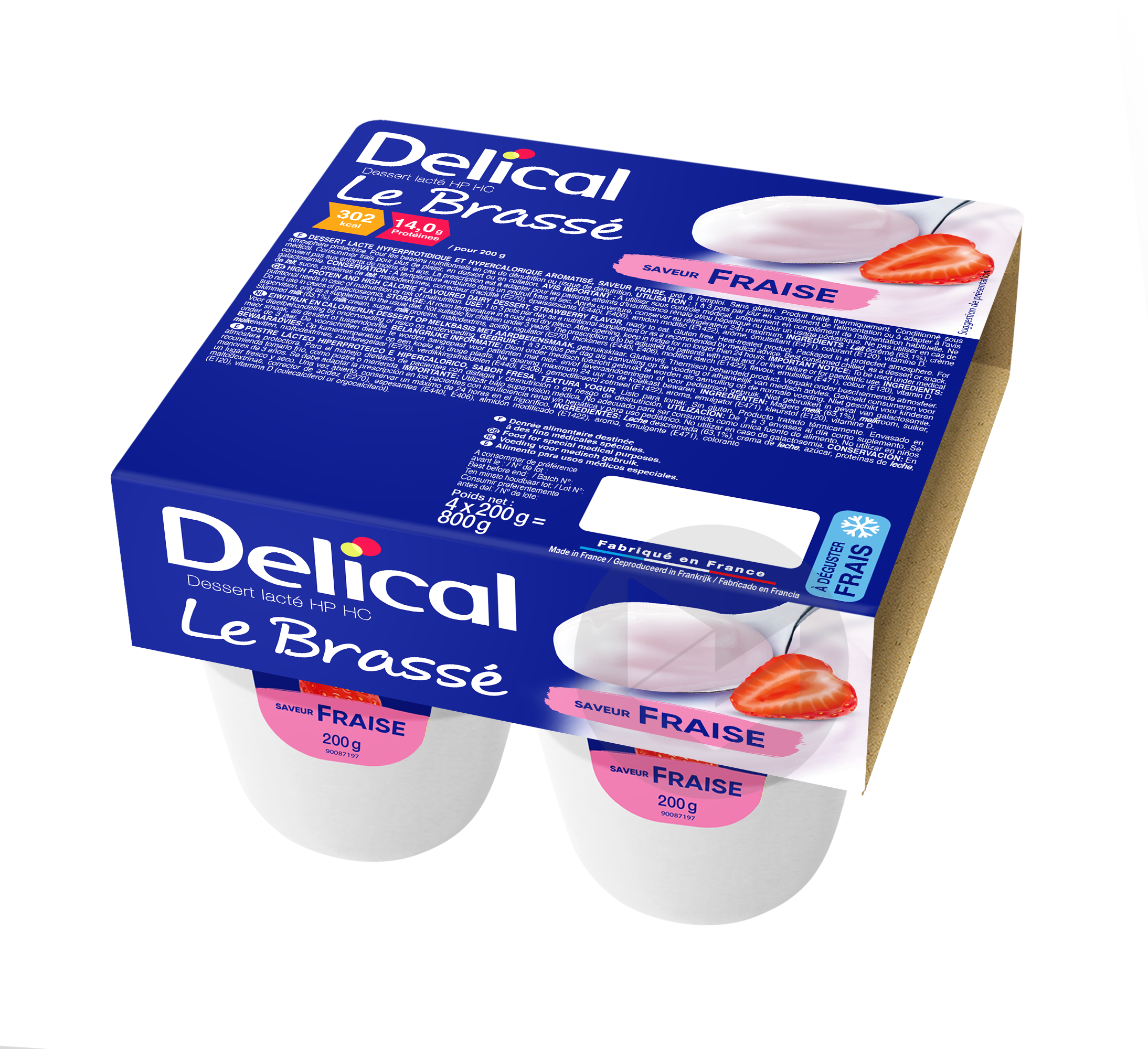 Delical Le Brasse Hp Hc Fraise