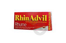 Ibuprofene Pseudoephedrine Comprime Enrobe Rhume 2 Plaquettes De 10