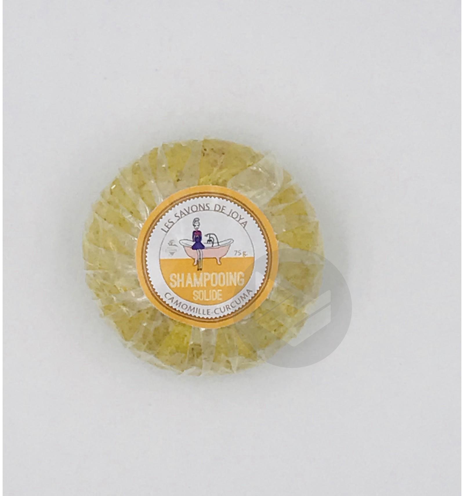 Shampooing Solide Camomille Curcuma