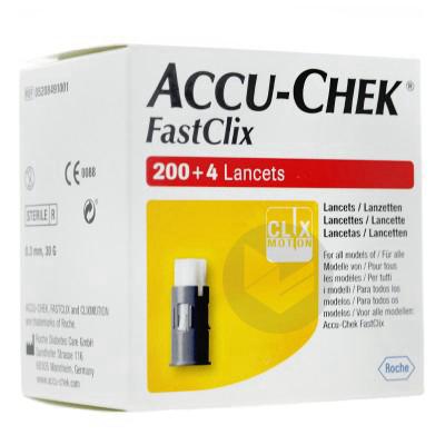 Accu Chek Fastclix Lancette B 204