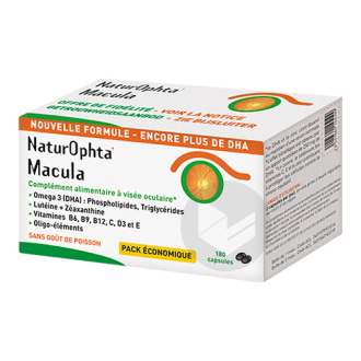 Naturophta Macula Caps Vieillissement Oculaire B 180