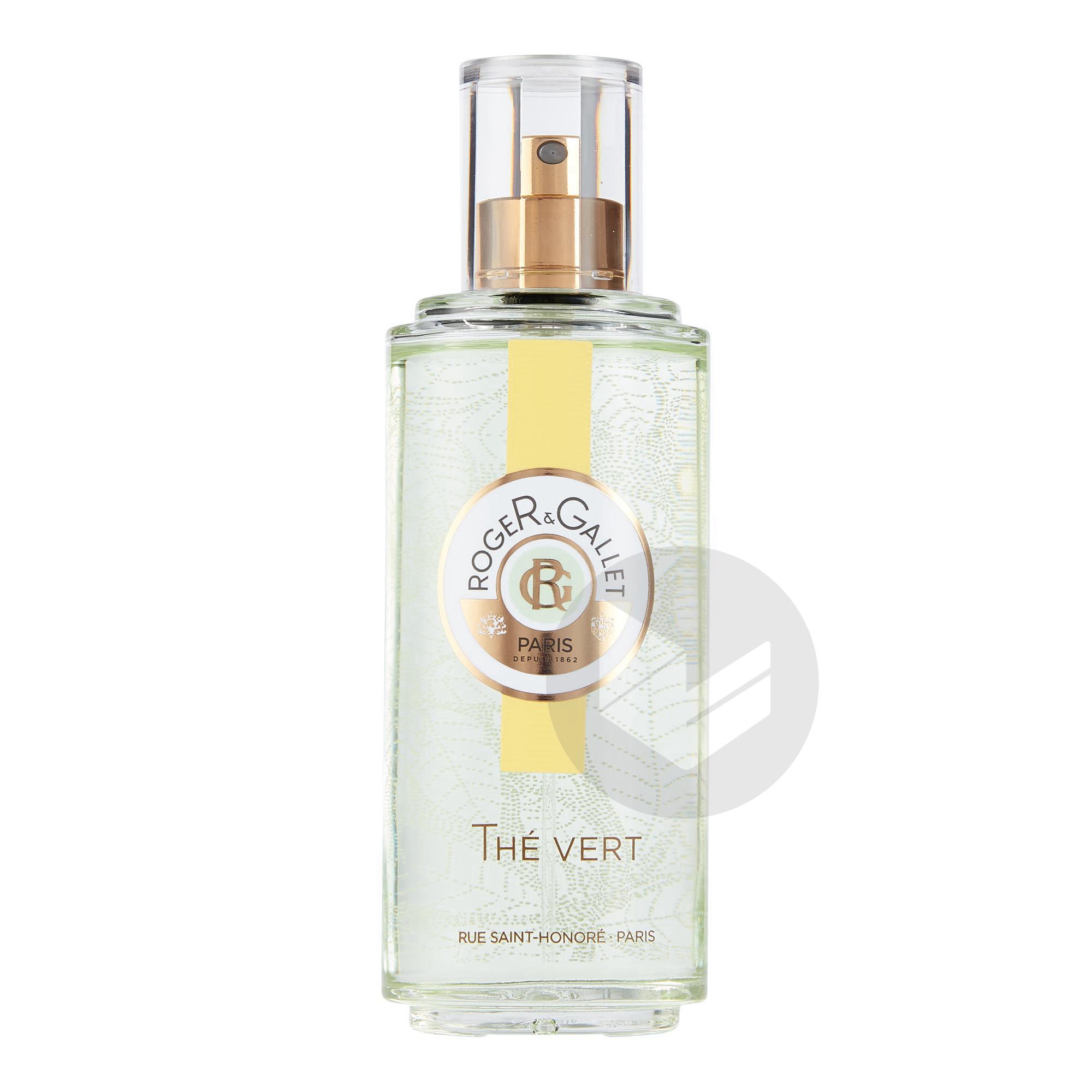 The Vert Eau Fraiche Parfumee Bienfaisante Vaporisateur 100 Ml