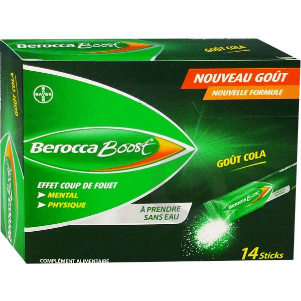 Berocca Boost Gout Cola 14 Sticks