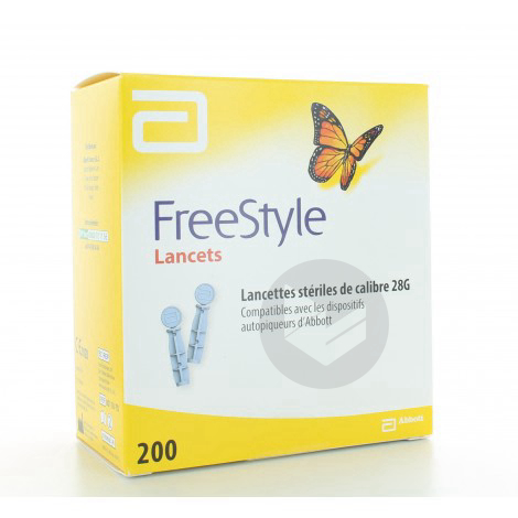 Freestyle Papillon Lancette B 200