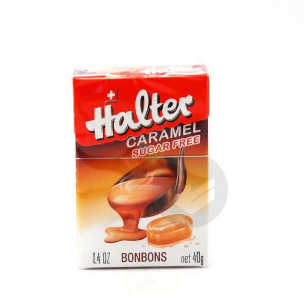 Sans Sucre Bonbon Caramel B 40 G