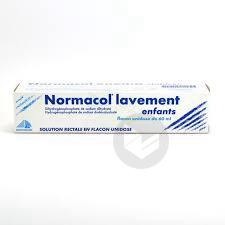 NORMACOL LAVEMENT Solution rect en récipient unidose enfant (Flacon de 60ml)