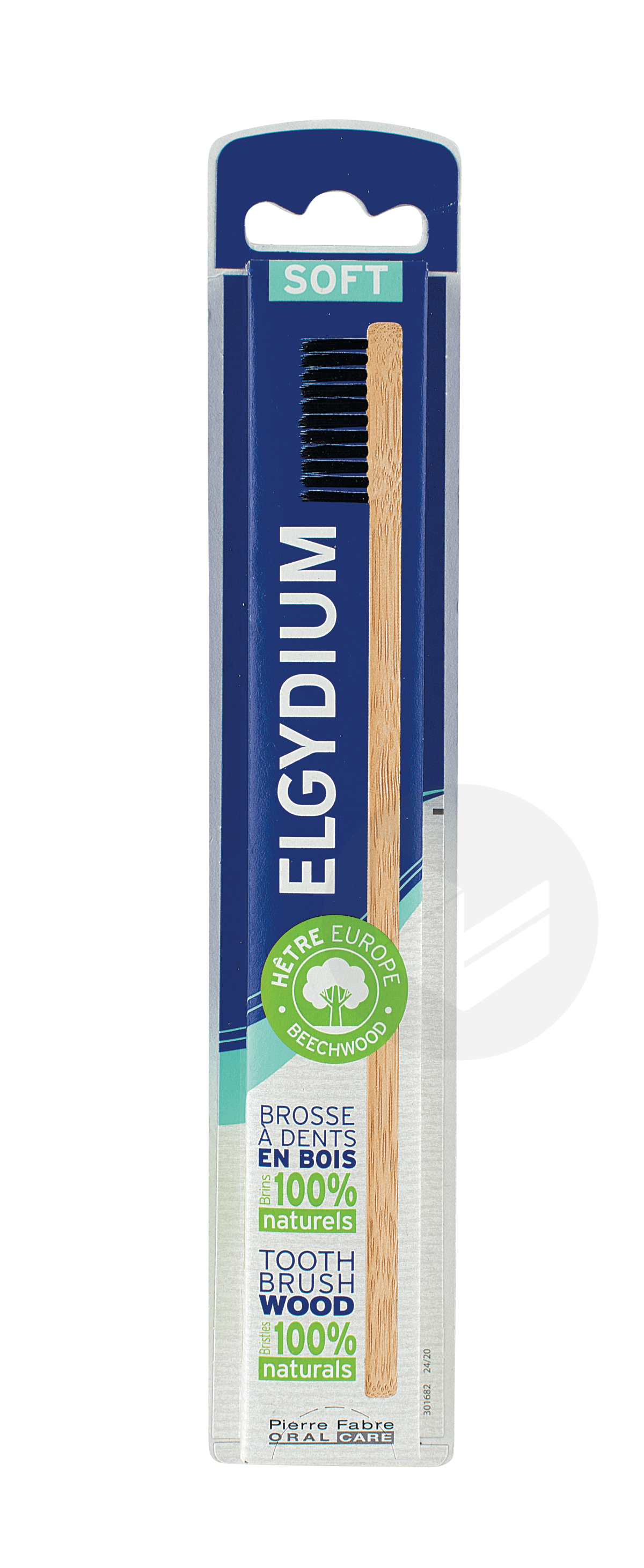 Brosse à dents Bois éco conçue souple