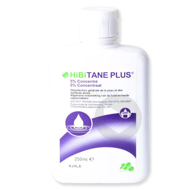Plus 5 Sol Chlorhexidine Desinfectant De La Peau Fl 125 Ml