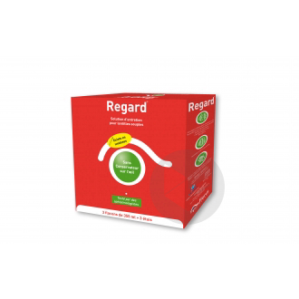Regard Solution Lentilles 3 X 355 Ml