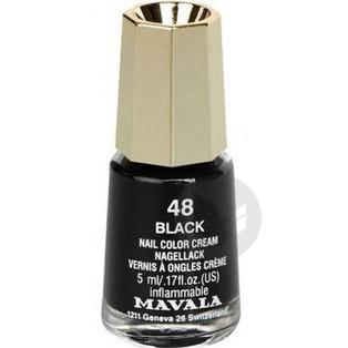 V Ongles Black Mini Fl 5 Ml
