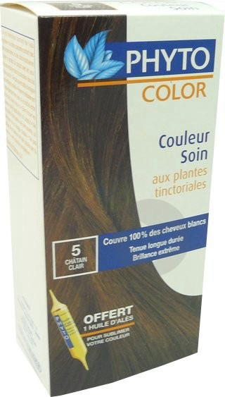 Kit Coloration 5 Chatain Clair