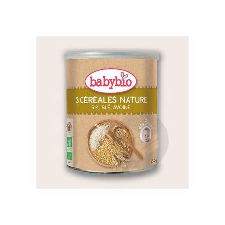 BABYBIO Farine instantanée trois céréales nature B/250g